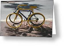 Bike And Rack Greeting Card