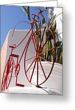 Bike Art Greeting Card