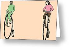 Bike Buddies Greeting Card