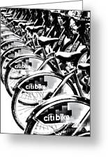 Bike Fleet Greeting Card