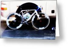 Bike Glamor  Greeting Card