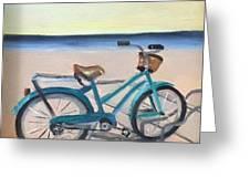 Bike Path Greeting Card