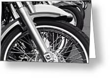 bike Riders  Greeting Card