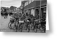 Bikes Of Skagen Greeting Card