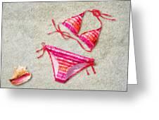 Bikini - Id 16218-130715-5870 Greeting Card