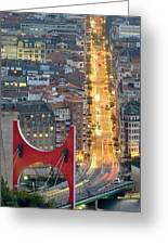 Bilbao Street Greeting Card