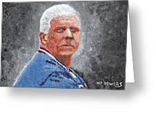 Bill Parcells Greeting Card