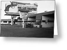 Billboard The Last Territory Tucson Arizona 1987 Greeting Card