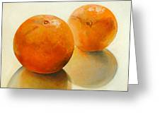 Billes Oranges Greeting Card