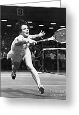 Billie Jean King Greeting Card