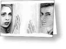 Billie Piper And David Tennant Greeting Card