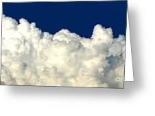 Billowing Clouds 4 Greeting Card