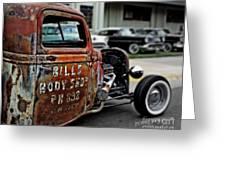 Bill's Rat Rod Greeting Card
