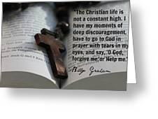 Billy Graham501 Greeting Card