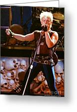 Billy Idol 90-2266 Greeting Card