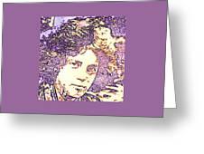 Billy Joel Pop Art Greeting Card
