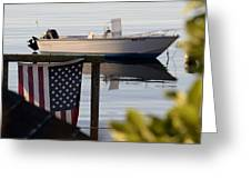 Billy's Boat Greeting Card