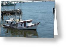 Bilouxi Shrimp Boat Greeting Card