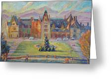 Biltmore Christmas Morning Greeting Card