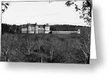 Biltmore Mansion Greeting Card by Michael Tesar