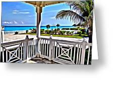 Bimini View Greeting Card