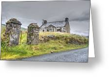 Bina's Cottage Outside Leenane Greeting Card