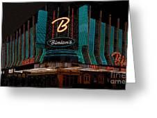 Binions Vegas Greeting Card