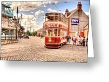 Binns Tram 5 Greeting Card