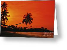 Bintan Island Beach Greeting Card