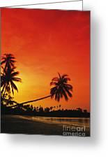 Bintan Island Sunset Greeting Card