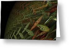 Biosphere Threatened Greeting Card