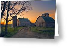 Birch Barn 2 Greeting Card