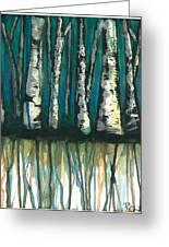 Birch Trees #1 Greeting Card