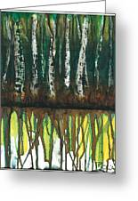 Birch Trees #3 Greeting Card