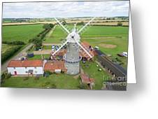 Bircham Windmill Greeting Card