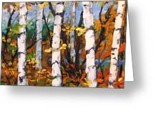 Birches 03 Greeting Card