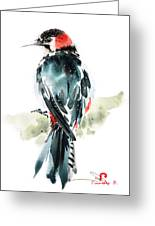 Bird Art Greeting Card
