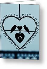 Bird Heart Greeting Card
