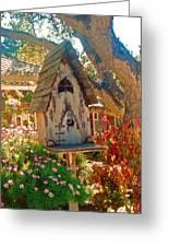 Bird House Greeting Card