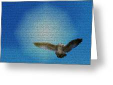 Bird In The Sky Greeting Card