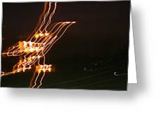 Bird Lights Greeting Card