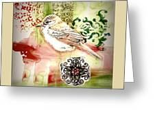 Bird Love Greeting Card