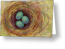 Bird Nest Greeting Card