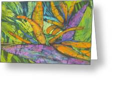 Bird Of Paradise I Greeting Card