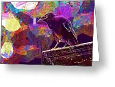 Bird Rain Rest Animals  Greeting Card