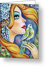 Bird Song Greeting Card