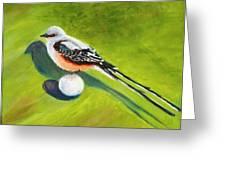 Birdie Time Greeting Card