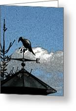 Bird's Eye View I Greeting Card