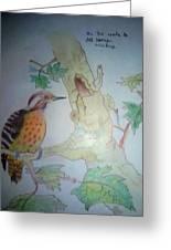 Bird's Life Greeting Card