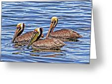 Birds Of A Feather Greeting Card